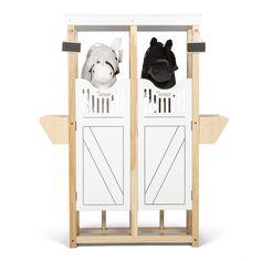 #stokpaard #stal | Grasonderjevoeten Shoe Rack, Magazine Rack, Horse, Storage, Furniture, Design, Home Decor, Gras, Diy