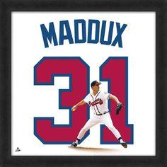 Greg Maddux Atlanta Braves Uniframe by Photo File - $79.99