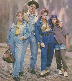 jeans dos anos 80 - Pesquisa Google