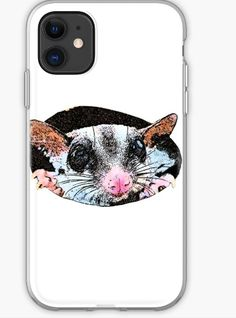 Rat iPhone Case & Cover Funny Rats, Cotton Tote Bags, Iphone Case Covers, Iphone 11, Ink, Tees, Prints, T Shirts, India Ink