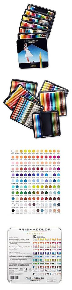 Art Pencils and Charcoal 28108: Prismacolor Premier Assorted Colored Pencils Soft Thick Core For Shading 132 Pcs -> BUY IT NOW ONLY: $82.69 on eBay!