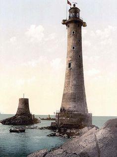 Eddystone Lighthouse, Plymouth, England
