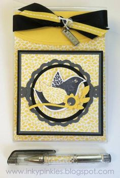 Picture Frame Post It Note gift for HSS121 - color challenge by gidgetmd - Cards and Paper Crafts at Splitcoaststampers