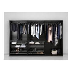 PAX Garderobekast - 300x60x201 cm, standaardscharnier - IKEA