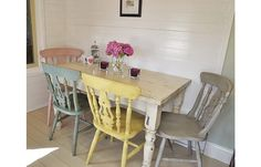 Shabby Chic Dining Chairs Used
