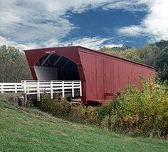 The Roseman Bridge in Madison Co. Iowa