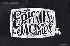 Lettering Jack Daniel's Typography Images, Typography Love, Typography Quotes, Typography Letters, Graphic Design Typography, Jack Daniels, Types Of Lettering, Hand Lettering, Tag Alphabet