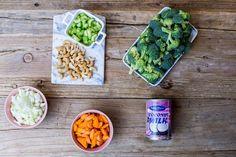 oppskrift-onsdag: kremet, vegansk brokkolisuppe