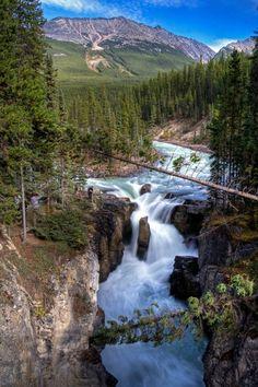 A Plus Photos: Canadian Rockies, Jasper National Park, Alberta, Canada Beautiful Waterfalls, Beautiful Landscapes, Parc National, National Parks, Places To Travel, Places To See, Wonderful Places, Beautiful Places, Amazing Places