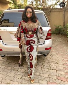 2020 Creative And Stylish Ankara Style For Beautiful African Ladies – African Dresses Styles by Fatihbaba. African Fashion Ankara, Latest African Fashion Dresses, African Dresses For Women, African Print Dresses, African Print Fashion, Africa Fashion, African Attire, African Print Jumpsuit, Ankara Jumpsuit