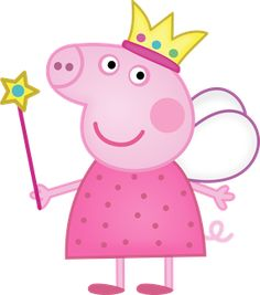 Peppa Pig Clipart in peppa pig clipart png collection - ClipartXtras Peppa Pig Pictures, Peppa Pig Images, Peppa Pig Princesa, Cumple Peppa Pig, Peppa Pig Birthday Cake, 2nd Birthday, Princess Peppa Pig Party, Special Birthday, Birthday Celebration