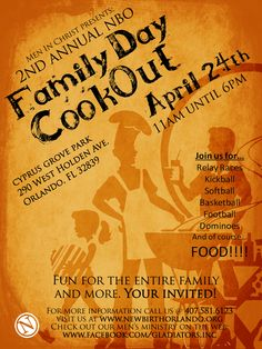 Company Cookout Flyer Templates ».