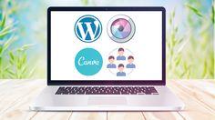 Construir site duma forma descomplicada - Teoria à Prática  Aprenda de Zero: Wordpress(com), Pixlr Express, Canva e Redes Sociais