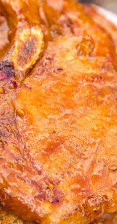 Grilled Huli Huli Pork Chops.