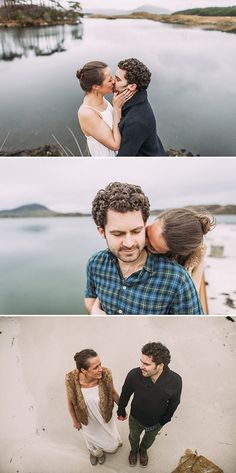 Atmospheric Engagement Shoot From Connemara In West Ireland With Images From Thierry Joubert At Pretty Days Photography 0001 Irish Beauty.