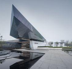 Chongqing LongFor • Hall of Waterfront City / Shanghai Tianhua Architecture Planning & Engineering