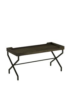 Cooper Classics Janning Table, Brown at MYHABIT