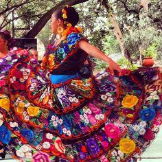 Vestido del estado de Chiapas.