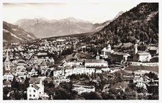 Vintage 60s Switzerland Travel Postcard Real Photo B&W Mid Century