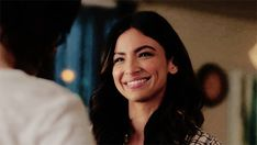 "detective-maggie-sawyer: """"My favorite part of this scene is that Maggie literally cannot contain her admiration over Alex, even when she is upset. If you look really close, the only time Maggie is showing her full genuine smile is when Alex is..."