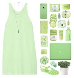 """""""SUPER FRESHHHH"""" by emmas-fashion-diary ❤ liked on Polyvore featuring T By Alexander Wang, Royce Leather, H&M, Simple, Rodial, Aveda, Caudalíe, MAC Cosmetics, Fuji and Balmi"""