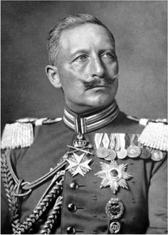 Wilhelm II was the last German Emperor (Kaiser) and King of Prussia, ruling the German Empire and the Kingdom of Prussia. He was born in Berlin, Germany to Prince Frederick William of Prussia (the future Frederick III) and his wife, Victoria, Princess Royal. He was the eldest grandson of Queen Victoria and related to many monarchs and princes of Europe