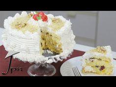 Bolo gelado de frutas cristalizadas - Vídeo passo a passo | RECEITASDMAIS.com