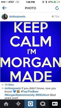 Morgan State University!!
