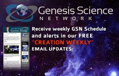 GSN Schedule – Genesis Science Network