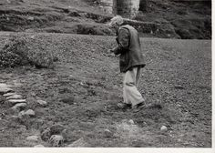 Sr Eloy U Santolalla recorriendo la mina Sinchao.