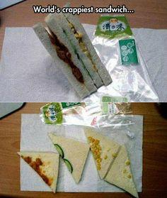 World's crapiest sandwich