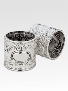 Francis 1st by Reed & Barton ROUND NAPKIN RING #588 WITH BEADING