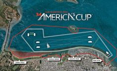 2013 America's Cup Course