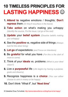Maybe obvious, but not always easy to achieve.  Article with these points to ponder :: http://personalexcellence.co/blog/how-to-be-happy/  #thought