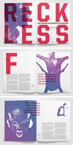Spread is a magazine, SLC AIGA 100 show award winner. Template Brochure, Design Brochure, Booklet Design, Branding Design, Design Logo, Brochure Layout, Identity Branding, Corporate Design, Corporate Identity