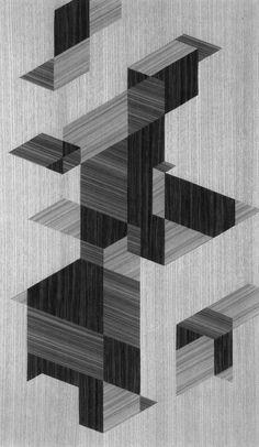 wood pattern, 1960s