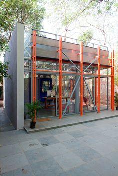 Pavilion of Incremental Form in Ahmedabad, India by Anthill Design; Photo: Deepshikha Jain, Hazel Karkaria