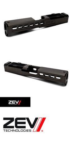 Pistol 73944: Zev Technologies Glock 19 Gen 1-3 Slide - Dragonfly Cut W Rmr Plate - Black Dlc -> BUY IT NOW ONLY: $424.96 on eBay!