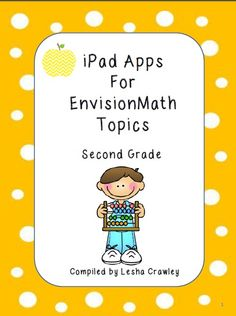 Second Grade Envision Math Resource - this is not the new Common Core version, but still has LOTS of wonderful resources!