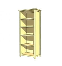 DIY Bookcase.  This website has tons of woodworking patterns.