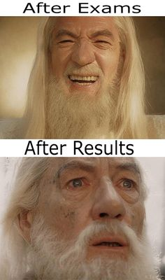 After Exams Vs. After Results