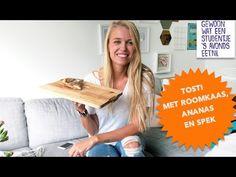 Video: tosti met roomkaas, ananas en spek - Gewoon wat een studentje 's avonds eet