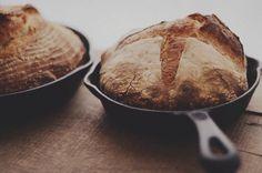 bourke street bakery bread, baked on cast iron pan