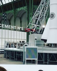 Spacetime @chanel #pfw #glitter #glamour #rockets #modernbarbarellas #ellegermany @kathrin_seidel  via ELLE GERMANY MAGAZINE OFFICIAL INSTAGRAM - Fashion Campaigns  Haute Couture  Advertising  Editorial Photography  Magazine Cover Designs  Supermodels  Runway Models