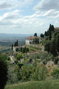 Medici Villas and Gardens in Tuscany #WorldsFair #Expo2015#Milan