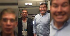 #HeyUnik  Gilleee......Pesawat Dibajak, Pria Ini Malah Minta Selfie dengan Pelaku #Antariksa #Fotografi #Kriminal #YangUnikEmangAsyik