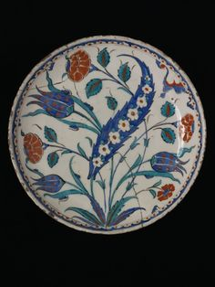 Plate Date: ca. 1575 Place: Iznik
