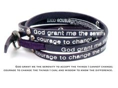 Good Works Serenity Bracelet says it all