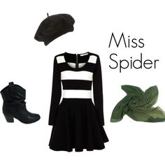 Miss Spider from Roald Dahl's James and the Giant Peach.