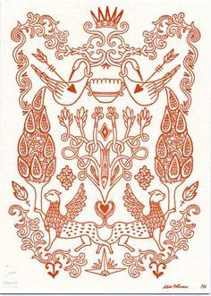 Miss Julia Rothman's letterpress prints